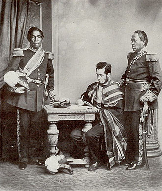 Rasoherina - Rainifiringa Ralaimaholy and Rasatranabo aka Rainandrianandraina: Malagasy Ambassadors to Europe, 1863