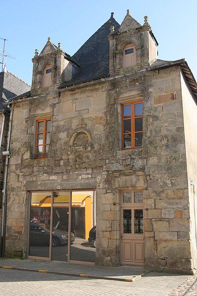 Maison 21 rue du Général de Gaulle à Malestroit.