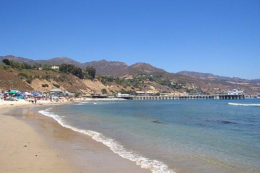 Malibu beach and pier 2012 05