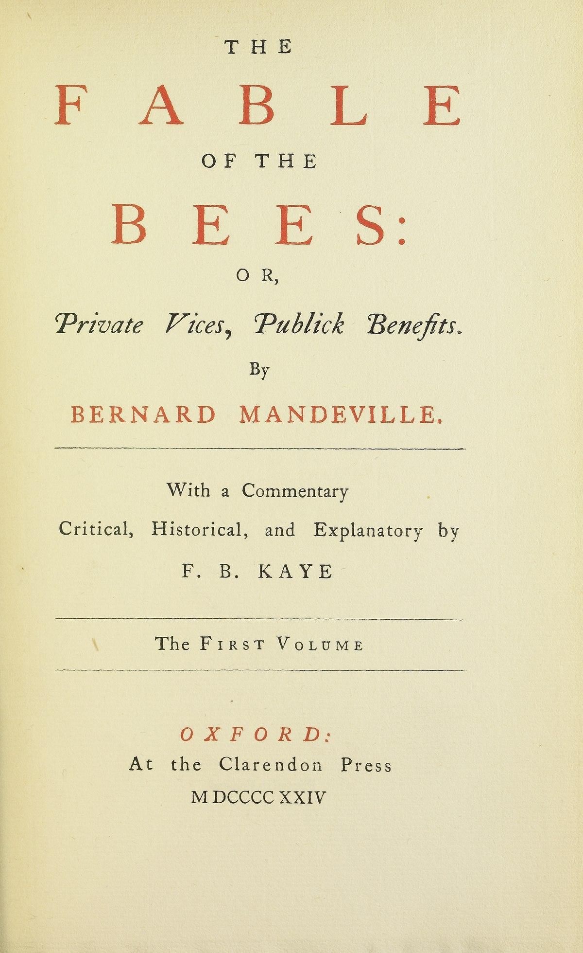 bernard mandeville wikipedia