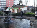 Manor Park fountain and cafe, Sutton, Surrey, Greater London.JPG
