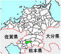 Map Fukuoka Yame-city.PNG