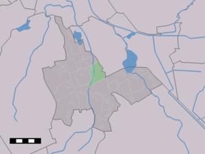 De Punt - Image: Map NL Tynaarlo De Punt