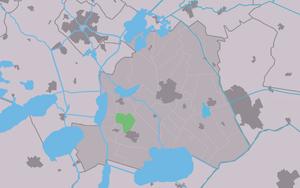 Legemeer - Image: Map NL Skarsterlân Legemar