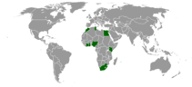 countries in Africa with Burger King locations