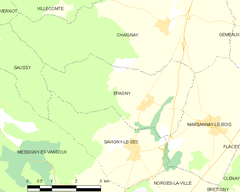 Map commune FR insee code 21245.png