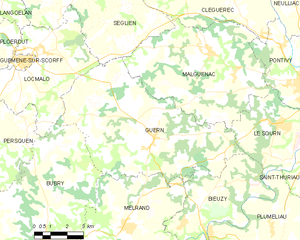 Map commune FR insee code 56076.png