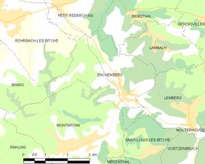 Enchenberg - Enchenberg's municipal territory