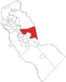 Map of Camden County highlighting Voorhees.png