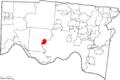 Map of Hamilton County Ohio Highlighting Cheviot City.png