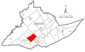 Map of Patton Township, Centre County, Pennsylvania Highlighted.png