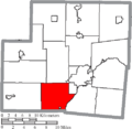 Map of Shelby County Ohio Highlighting Washington Township.png