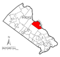 Map of Solebury Township, Bucks County, Pennsylvania Highlighted.png