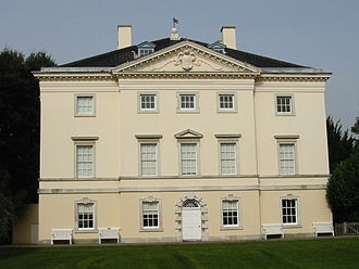 Roger Morris (1695–1749) - Marble Hill House, with Lord Pembroke, 1724-29: prototype of many English villas and colonial mansions.