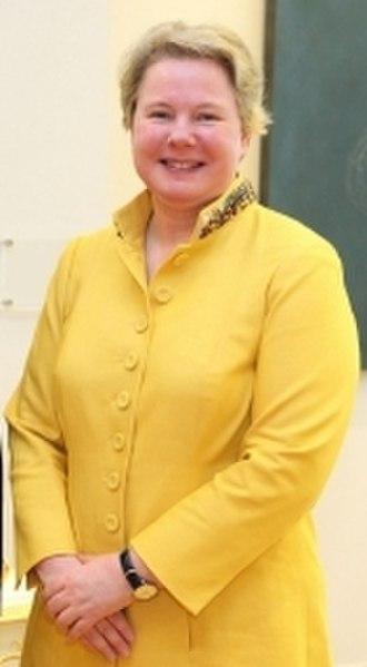 Maria-Pia Kothbauer - Kothbauer in April 2013
