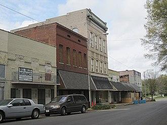 Marianna Commercial Historic District - Image: Marianna AR 017