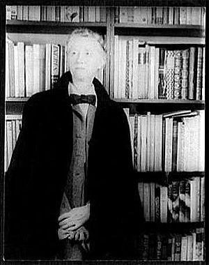 Modernist poetry in English - Marianne Moore photographed by Carl Van Vechten, 1948.