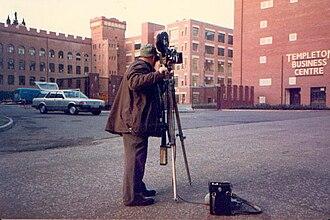 Scotland Today - Scotland Today News - Film Crew at Glasgow's Templeton Business Centre