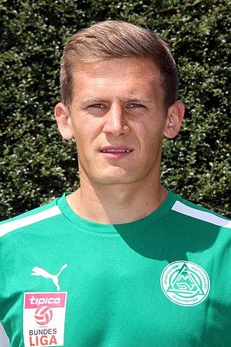 Mario Grgić - Image: Mario Grgic, SV Mattersburg 2015 2016 (01)