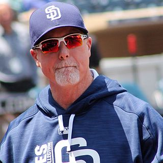 Mark McGwire American baseball player and coach