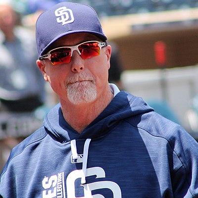 Mark McGwire, American baseball player and coach