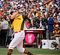 Mark Trumbo competes in semifinals of '16 T-Mobile -HRDerby. (28463500162).jpg