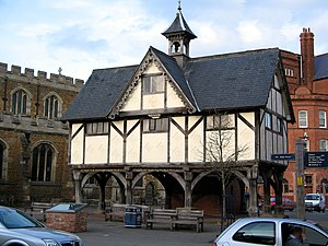 William Henry Bragg - The Old Grammar School, Market Harborough, which has a plaque inside noting Bragg's attendance