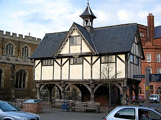 William Henry Bragg - The Old Grammar School, Market Harborough, which has a plaque inside noting Bragg's attendance.