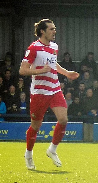 John Marquis - Marquis playing for Donacaster Rovers in 2019.