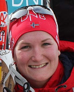 Marte Olsbu Røiseland Norwegian biathlete
