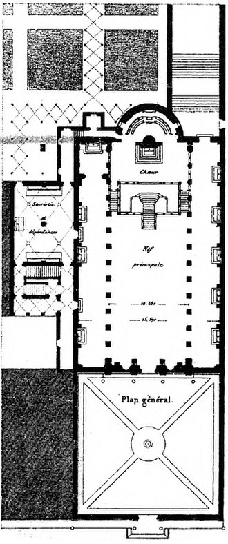 San Martino ai Monti - Plan of the Basilica