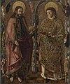 Marx Reichlich - Jakobus-Stephanus-Altar, Die hll. Jakobus und Stephanus - 8571 - Bavarian State Painting Collections.jpg