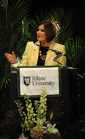 Libertarian Party presidential primaries, 2016 - Mary Matalin speaking at a Bipartisan Policy event at Tulane University in 2009