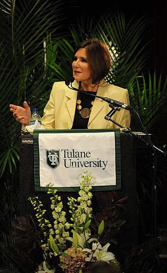2016 Libertarian Party presidential primaries - Mary Matalin speaking at a Bipartisan Policy event at Tulane University in 2009