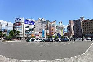 Matsumoto, Nagano - Buildings near Matsumoto Station
