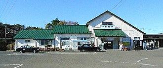 Matsushima Station - Matsushima Station, November 2007