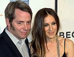 Sarah Jessica Parker con il marito Matthew Broderick al Tribeca Film Festival 2009