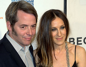Matthew Broderick - Broderick with wife Sarah Jessica Parker in 2009