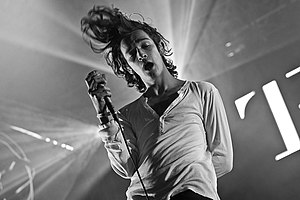 The 1975 - Matthew Healy at Southside Festival 2014