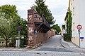 Mauergasse, östlich Pfortengasse, Stadtmauer Delitzsch 20180813 001.jpg