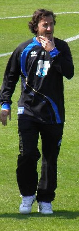 Mauricio Taricco - Taricco in a training session as assistant manager of Brighton & Hove Albion in 2011