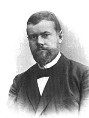 ماكس فيبر عام 1894