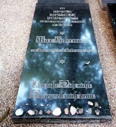 Maxliebermannreal grave original