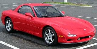 Mazda RX-7 car model