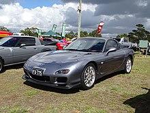 Tuned Mazda RX 7 Spirit R