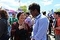 Mazie Hirono with activist.jpg