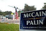 McCain sign on US Election Day 2008 (3005449164).jpg
