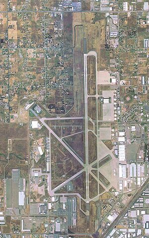 Sacramento McClellan Airport - Image: Mc Clellan Air Force Base CA 9 May 2002