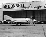 McDonnell F4H-1 Phantom II prototype on 5 June 1958.jpg