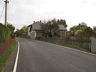 Melč - Image: Melč, silnice